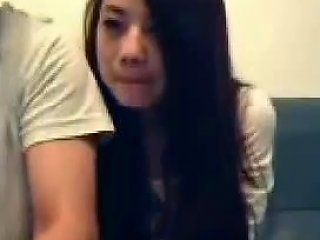 Chinese Couple Mess Around On Webcam Porn 8d Xhamster